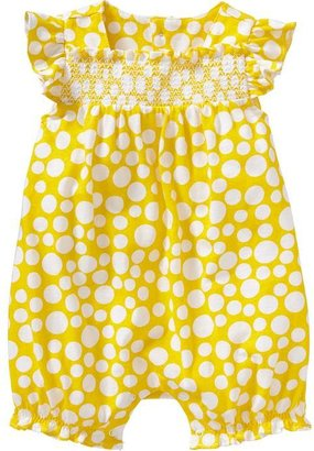 Old Navy Smocked Rompers for Baby