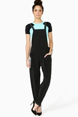 Nasty Gal Mission Control Jumpsuit - Nebula