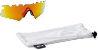 Oakley M Frame Sport Iridium Rimless Sunglasses