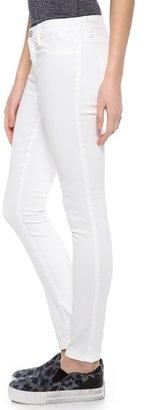 Blank Spray On Skinny Jeans