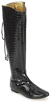 French Sole PRINCE women's High Boots in Black