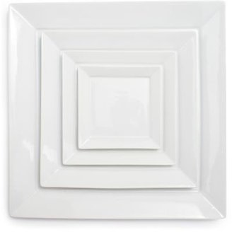 Sur La Table Blanc Square Plate, 14""