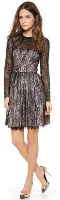 Jill Stuart Jill Long Sleeve Lace Dress