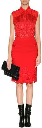 Preen by Thornton Bregazzi Viva Skirt in Red