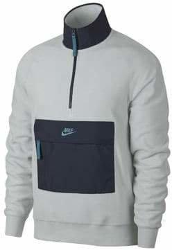 Nike Sportswear Zip Logo Fleece Sweater