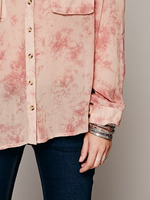 Free People Cloud Wash Buttondown