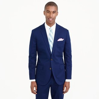 Ludlow suit jacket with double vent in Italian chino $298 thestylecure.com