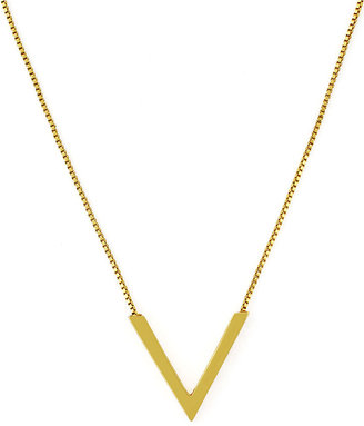 Vince Camuto 'V' Pendant & Chain Necklace