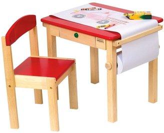 Guidecraft Art Table & Chair Set
