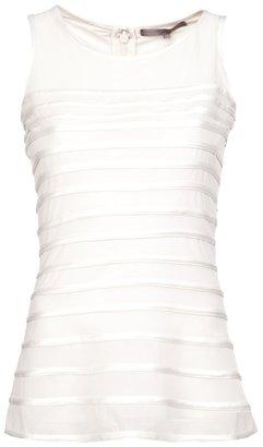 Halston sleeveless top