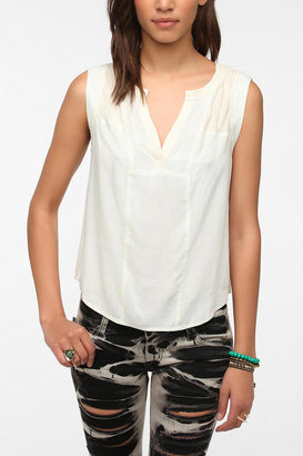 Urban Outfitters Ecote Charlie Sleeveless Blouse