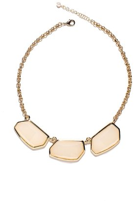 The Limited Geometric Stone Statement Necklace