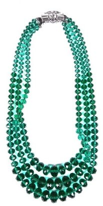 Helene Zubeldia Three-Strand Beaded Necklace