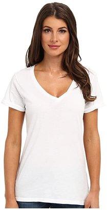 LAmade Staple V S/S Tee (Black) Women's T Shirt
