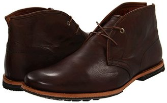 Timberland Wodehouse Plain Toe Chukka (Burnished Dark Brown) Men's Lace-up Boots