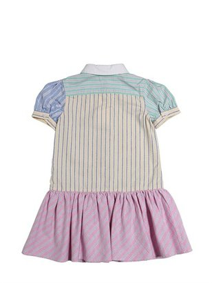 Ralph Lauren Striped Cotton Oxford Dress