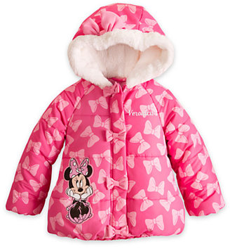 Disney Minnie Mouse Puffy Jacket for Girls - Personalizable