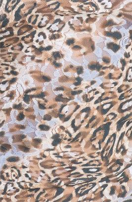 Hanky Panky 'Ocelot' Camisole Animal Periwinkle Small