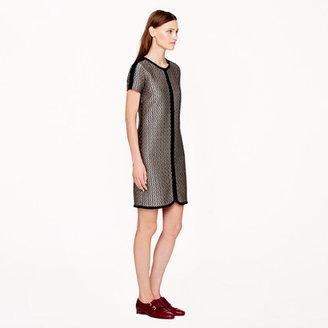 J.Crew Collection diamond dot dress