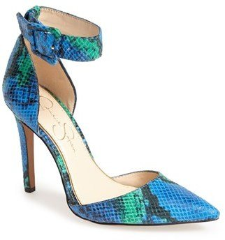Jessica Simpson 'Cayna' D'Orsay Ankle Strap Pump