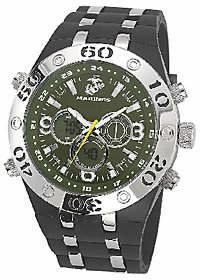 Green & Black Wrist Armor Men's U.S. Marine Corps C23 Green &