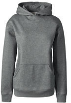 Lands' End Women's Hoodie Pullover Sweatshirt-Red $30 thestylecure.com