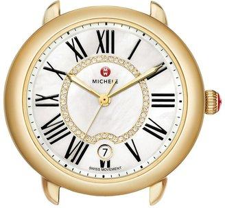 Michele Serein 16 Diamond Dial Watch Head, 34mm x 36mm