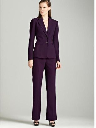 Tahari ASL Tahari Grape two button pants suit $99.99 thestylecure.com