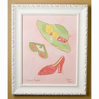 Julia S. Julia's Closet I Framed Print