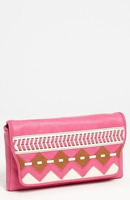 Jessica Simpson 'Somali' Faux Leather Clutch