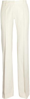 Balmain Wool-blend wide-leg pants