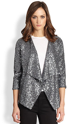 Design History Draped Sequined Jacket