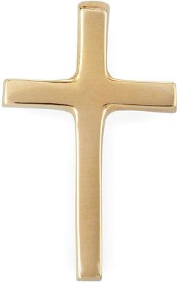 Chicco Zoe 14k Solid Gold Cross Stud Earring