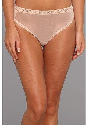 OnGossamer Gossamer Mesh Hi-Cut Brief 3012 (Black) Women's Underwear
