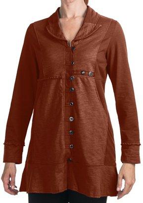 Neon Buddha Earth Button Jacket (For Women)