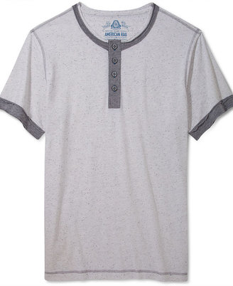 American Rag Shirt, Speckle Henley T-Shirt