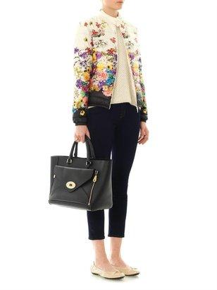Moncler Alisia floral down coat