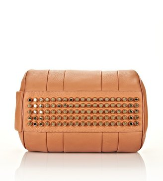 Alexander Wang Rocco In Tan Soft Pebble Lamb With Pale Gold
