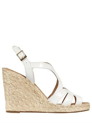 Paloma Barceló 110mm Patent Rope Sandal Wedges