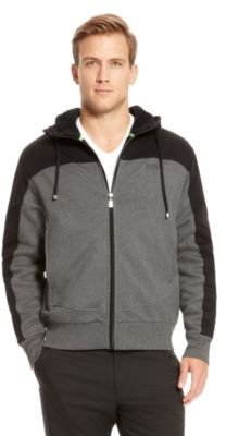 HUGO BOSS Snuggel Cotton Hooded Zip Sweatshirt