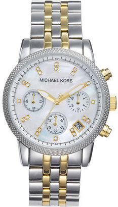 MICHAEL Michael Kors Michael Kors 'The Ritz' Chronograph Bracelet Watch, 36mm