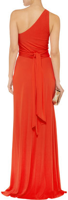 Issa Silk-jersey maxi dress