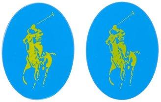 Polo Ralph Lauren logo cufflinks