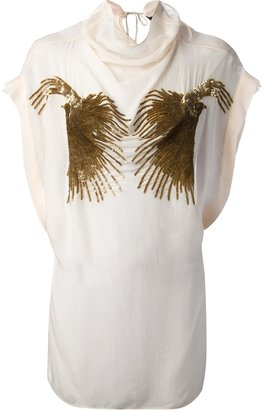 Sharon Wauchob embellished silk blouse