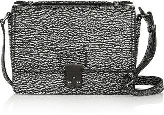 3.1 Phillip Lim The Pashli Mini Messenger Textured-Leather Shoulder Bag