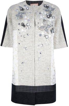 Antonio Marras oversized contrast coat