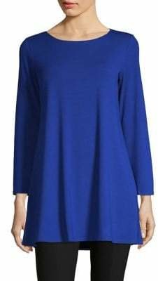 Eileen Fisher Long Sleeve Tunic Top