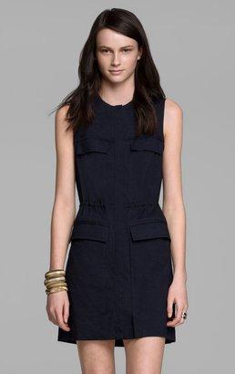 Theory Sebiya Dress in Crunch Linen Blend