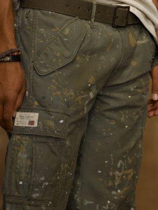 Denim & Supply Ralph Lauren Paint-Splattered Field Pant