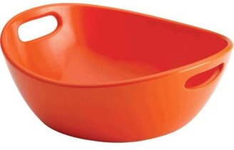 Rachael Ray 10-in. Serveware Veggie Bowl, Orange